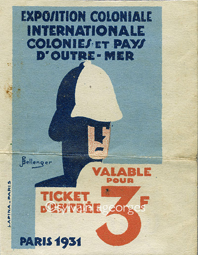 Exposition coloniale dez paris, 1931