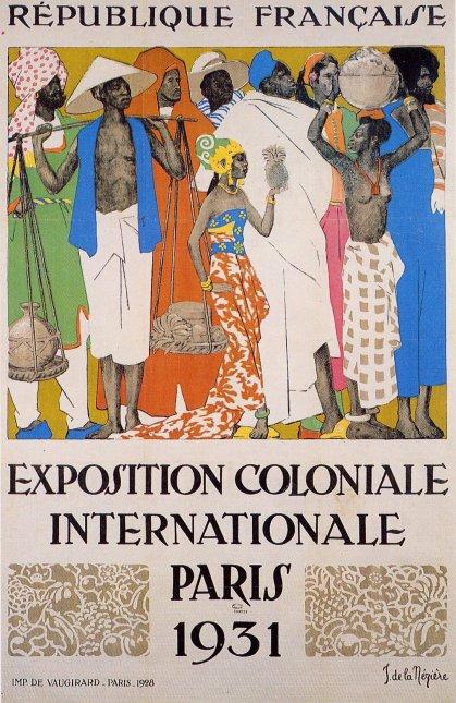 Affiche-de-lExposition-Coloniale-de-Paris-1931-Auteur-Jean-de-la-Mézière